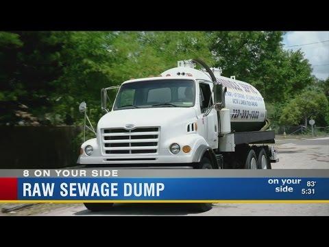 Raw Sewage Dump