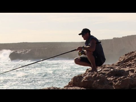 Dirk Hartog Island: Rock Fishing ► All 4 Adventure TV
