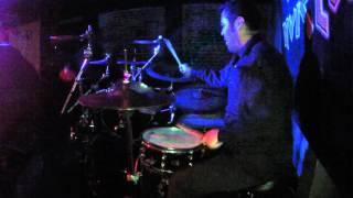 Despotic - FRANK BARRIENTOS Drum cam - live at Airliner Bar 4/15/2016