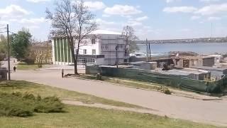 Video 173: Яхт-клуб Николаева на сухом фонтане, ремонт причал №8