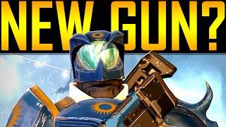 Destiny - NEW SUBMACHINE-GUN CLASS?