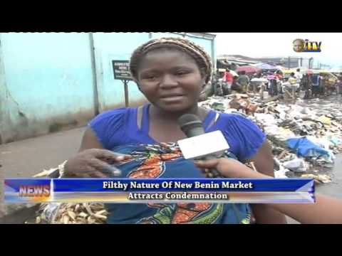Filthy nature of New Benin market attracts condemnation