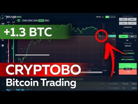 ✅ WIN 1.3 Btc In Crypto Binary Options CRYPTOBO. №1 Bitcoin Trading Platform