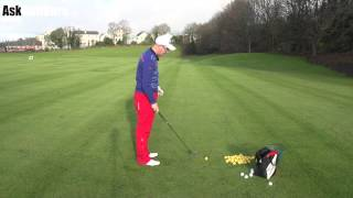 Lean The Golf Shaft Or Change The Grip Lesson