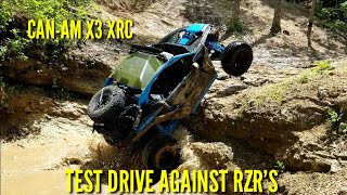 Can-Am X3 XRC Test Drive with Can-Am Off-Road & St. Louis Powe…