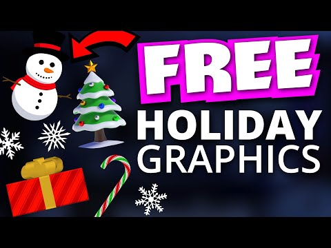 FREE Holiday Graphics for your Twitch Stream | StreamSchool