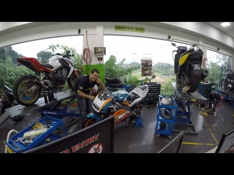 Oil Change Adventure with Honda CB650F