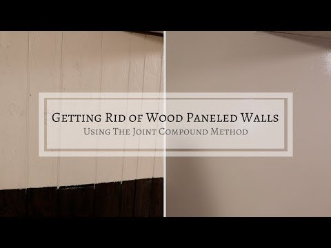 Turning Wood Paneling into Drywall | Affordable Remodeling