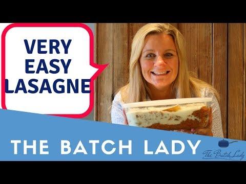 Very Easy Lasagne
