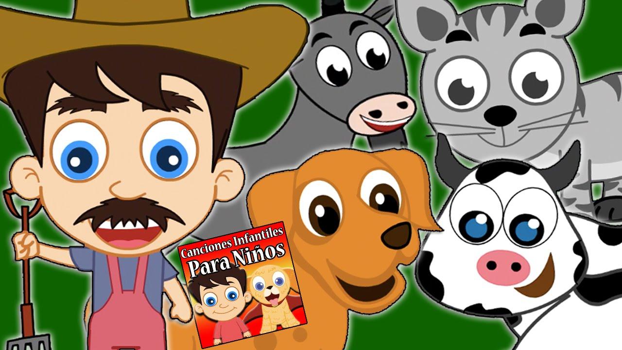 en la granja de mi to canciones infantiles para nios rondas infantiles nursery rhymes youtube