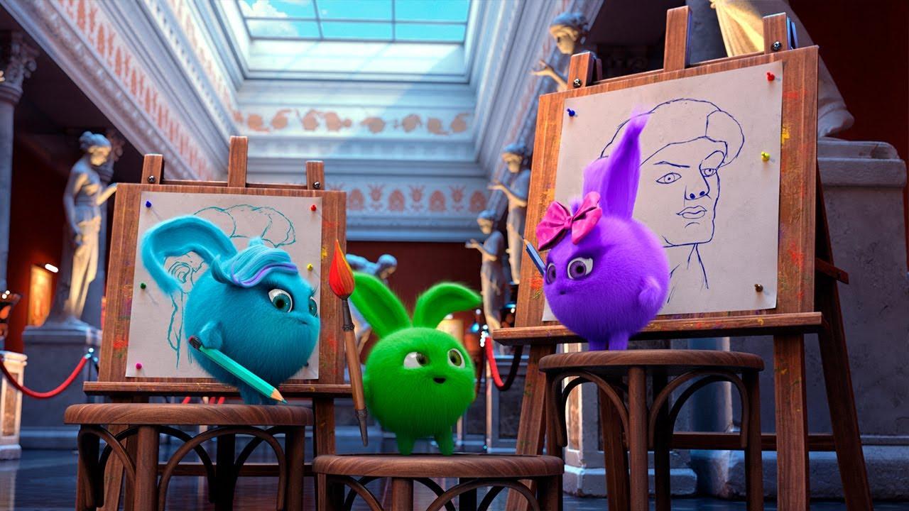 Sunny Bunnies | Vamos Pintar! O Pincel Maravilhoso e Mais Episódios | O Reino Infantil
