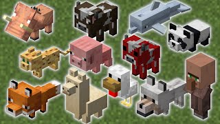How To Breed AĻL Mobs In Minecraft! - The Ultimate Breeding Guide