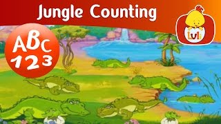 Jungle Counting - Crocodile, For Kids