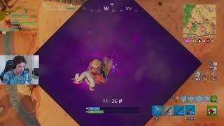 Big Purple Cube?!?! - Fortnite Battle Royale Gameplay