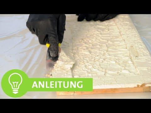 Berühmt Möbel abbeizen, alte Lackschicht entfernen - ADLER - YouTube EO71