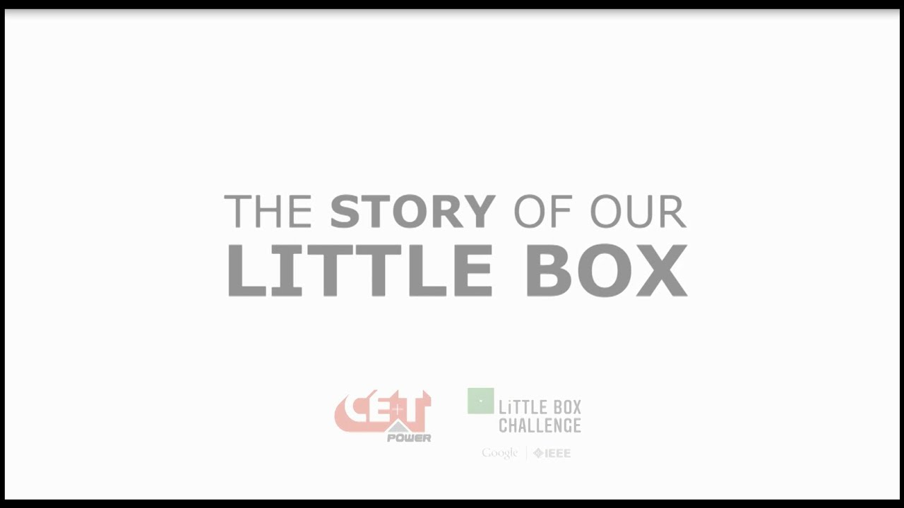 Cet power the little box challenge adventure youtube cet power the little box challenge adventure publicscrutiny Images