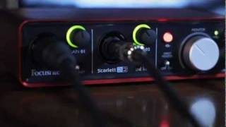 focusrite scarlett 2i2 usb 2 0 audio interface introduction