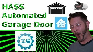 Automated Garage with HomeAssistant