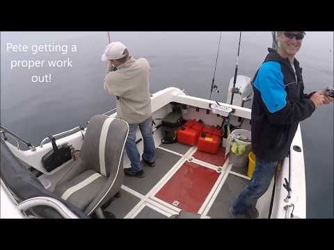 Slow Jigging And Soft Plastic Lure Fishing For Cod And Pollack In UK Waters June 5th 2016