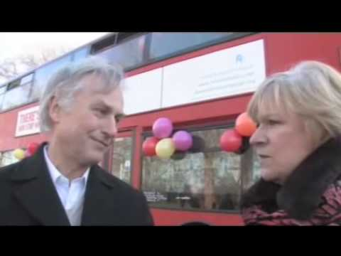 There's Probably No God! - Richard Dawkins, Ariane Sherine, And The Atheist Bus Ad Campaign