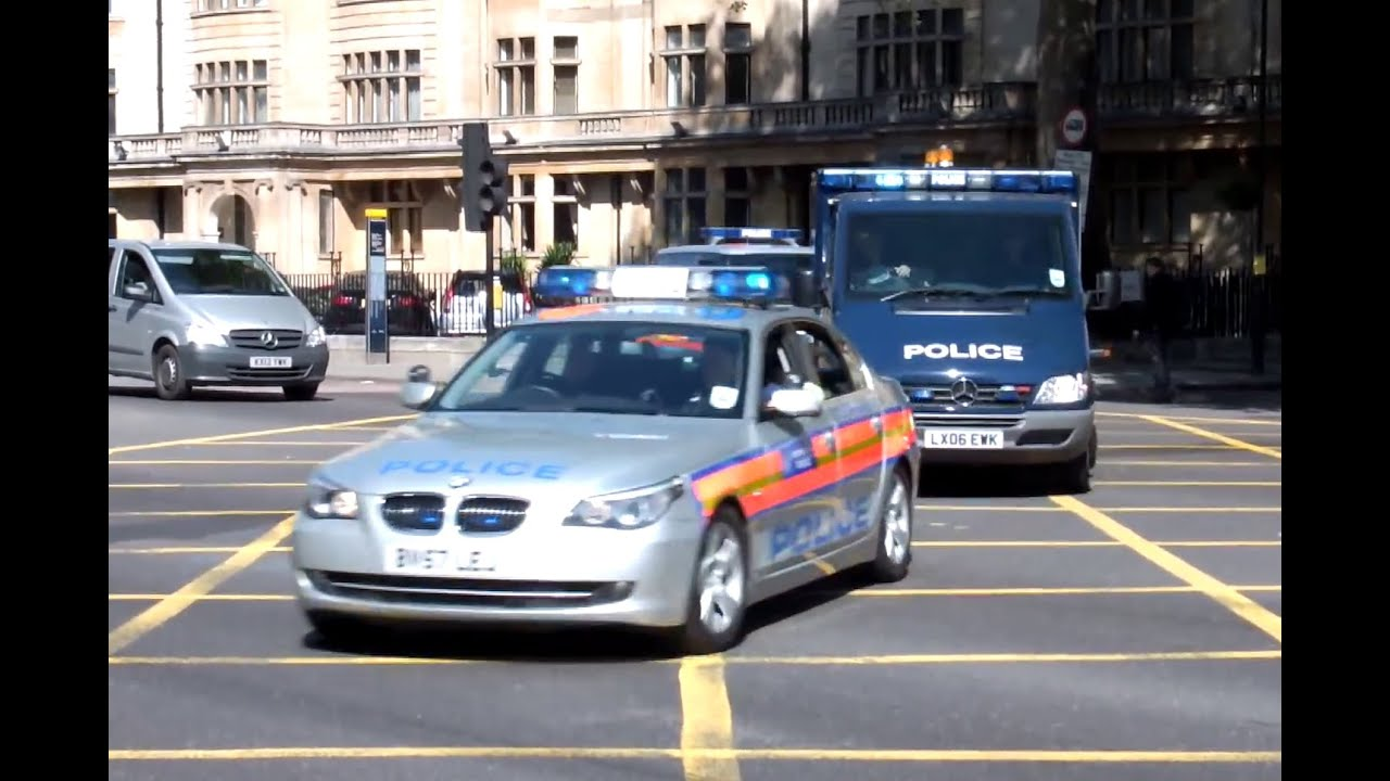 London Metropolitan Police Seg Convoy High Security