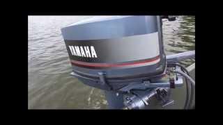 1988 Yamaha 25 HP on 1444 aluminum Jon boat