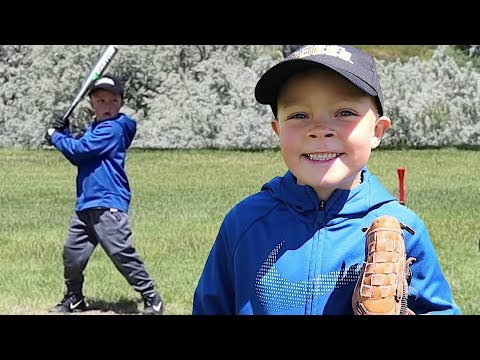 ⚾️HILARIOUS LITTLE KIDS BASEBALL and SELLING EVERYTHING WE OWN!