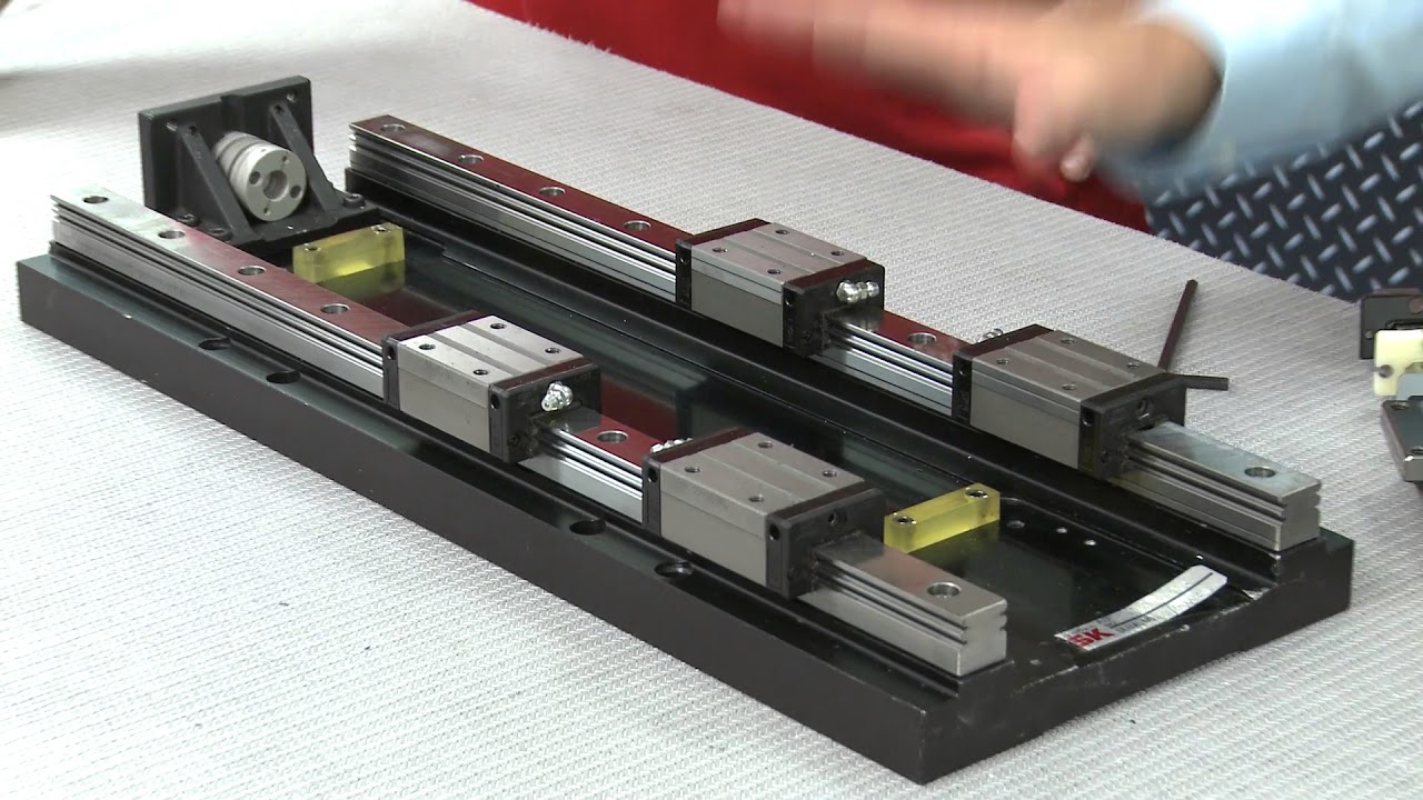 Nsk linear guides™ | precision machine components | products | nsk.