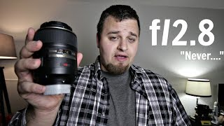 """Why I """"NEVER"""" Use F/2.8"""
