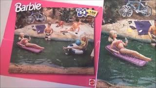Formando Rompecabezas de Barbie - Vintage Barbie  - Childrens puzzle