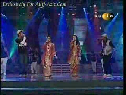 Ala Canggung - Aliff Aziz and gang @ Rapsodi Remix 2007