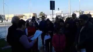 Commemorazione del Khatchkar (Croce di pietra) a Bari 11/01/2015