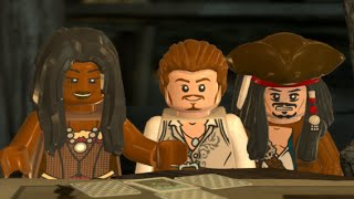 LEGO Pirates of the Caribbean Walkthrough Part 7 - A Touch of Destiny (Dead Man's Chest)