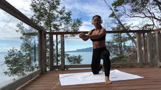 ドナルド涼子お外トレーニングRyoko Donald oceanfront training