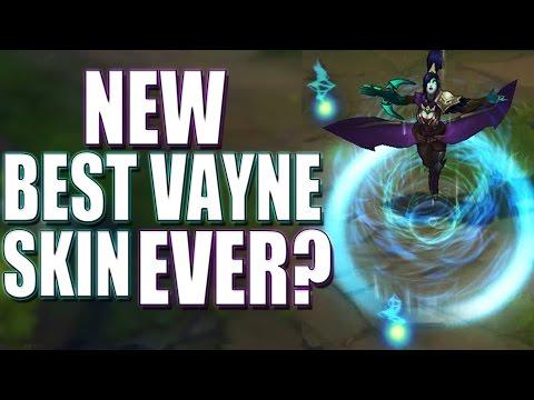Ruhsömüren Vayne (Yeni Kostüm) League Of Legends