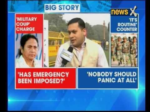 Mamata vs Centre: Drill conducted in coordination with Bengal police, says Army