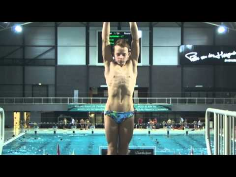 Boys B Platform, Senet Diving Cup Eindhoven 2016