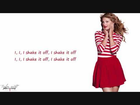 I shake it off Taylor Swift (LYRICS)