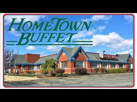 Abandoned Hometown Buffet Warren Ohio