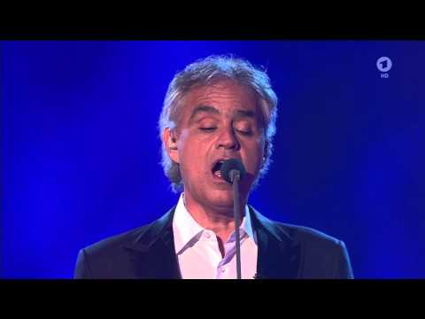 Andrea Bocelli - Nelle tue mani (Now We Are Free) (Das große Fest der Besten - 2016 jan09)