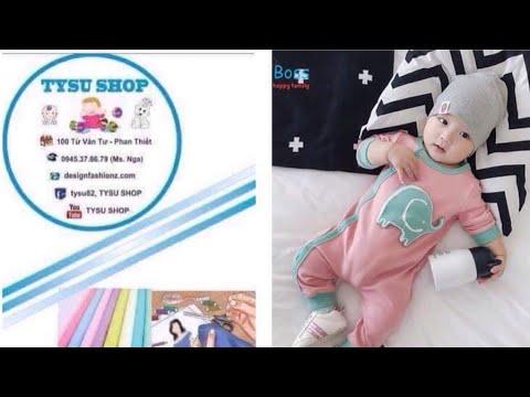 512_thiết Kế Bộ Cho Bé|dạy cắt may online miễn phí | sewing online class free | tysushop