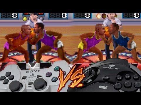 PlayStation Vs Sega Saturn - NBA Jam Tournament Edition
