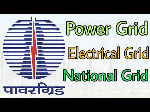 What is Electrical Grid, National Grid, Power Grid (In Hindi