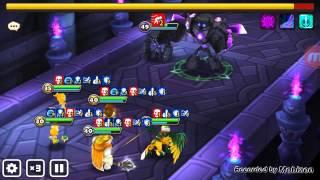 summoners war auto b7 with a newbie team