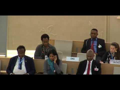 36th Regular Session Human Rights Council - ID: Democratic Republic of Congo - Mr. Mutua K. Kobia