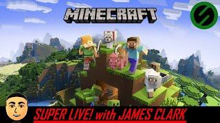 "Minecraft - Sponsor Realm ""Find the Diamonds!"" [12.9.19] | Super Live! with James Clark"