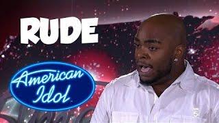 American Idol/X Factor Rude Contestants Full Edition   American Idol Tribute 2016