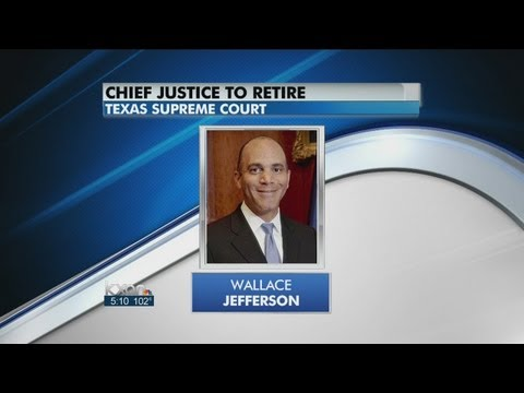 Jefferson to resign as chief justice of Texas Supreme Court