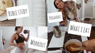 A Day in My Life | Pregnant College Student & Youtuber