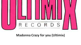 Madonna Crazy for you Ultimix